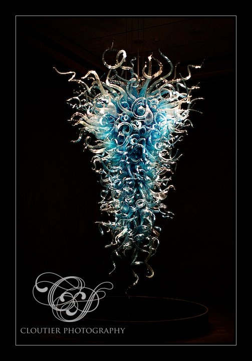 Chiostro di Sant'Apollonia Chandelier by Dale Chihuly (Photo by Cloutier Photography)