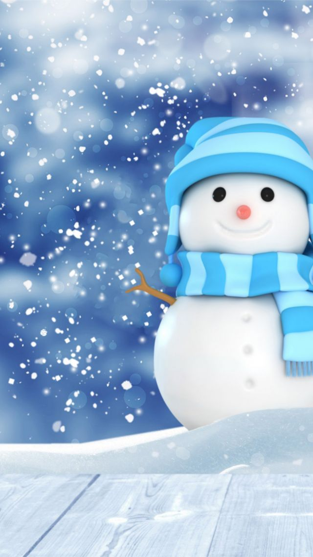 christmas new year winter snow christmas new year snow winter snowman 4k vertical