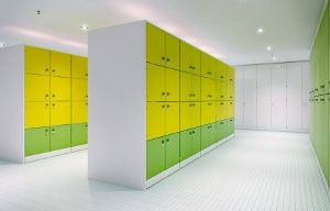 Color Block Lockers