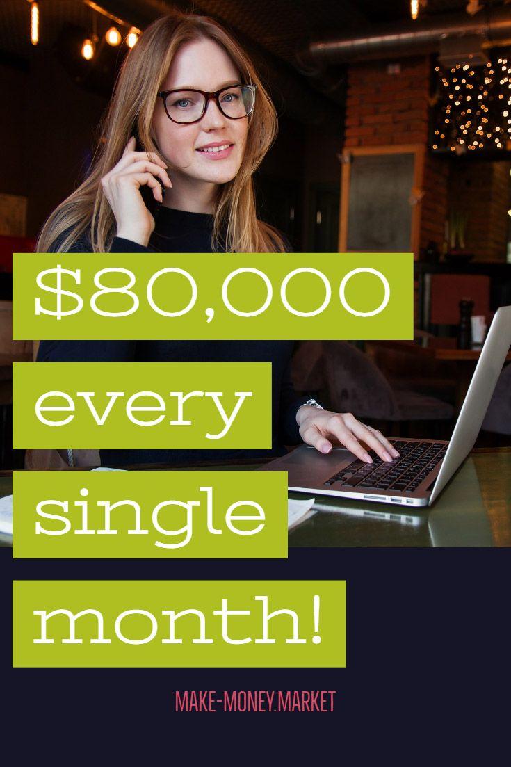 $80,000 every single month! – Charlotte Green-Hawkins