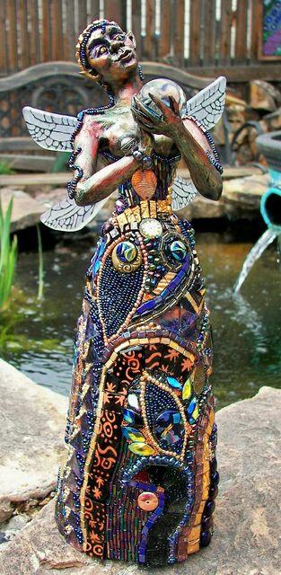 Mosaics in the garden