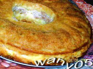 Кабачковый пирог с индейкой