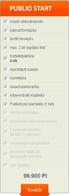 Publio Kiadó, szerzői könyvkiadás, self-publishing