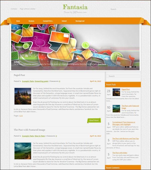 Best DesignWordpress Themes Images On   Wordpress