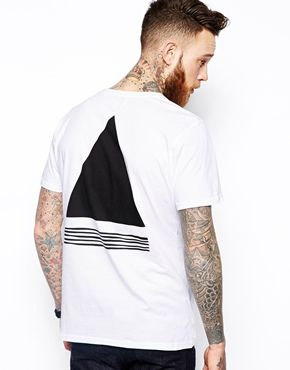 Soulland T-Shirt with Triangle Print