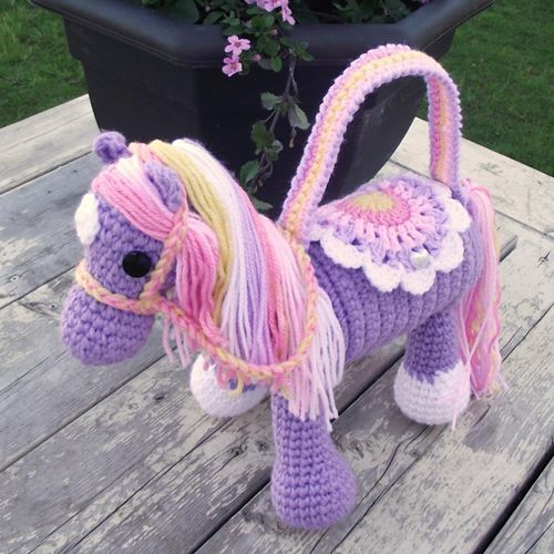 Crochet For Children: Horse Purse - Free Pattern