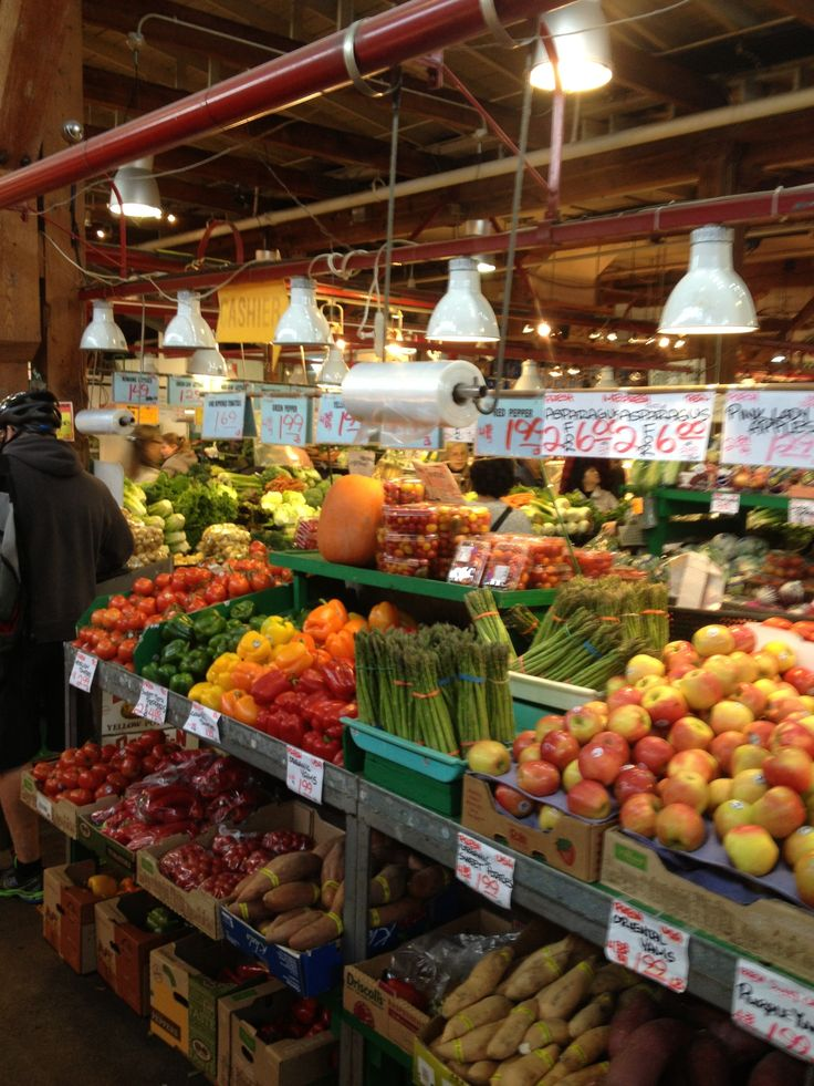 Granville Market. Vancouver, BC.