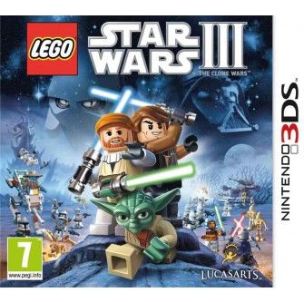 Lego Star Wars III Clone Wars (3DS) - Consoles et jeux - Multimedia , Maxi Toys