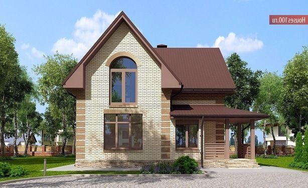Проект дома A-119 - Проекты домов и коттеджей в Москве