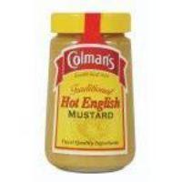 Colemans Hot English Mustard 168g
