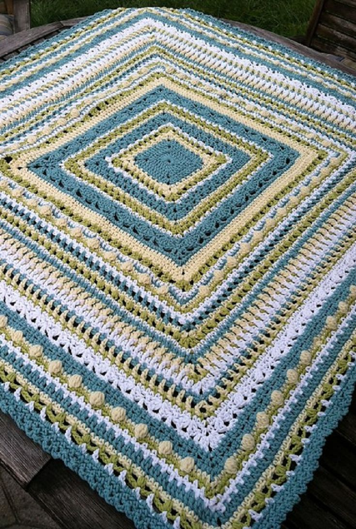 [Free Pattern] This Faeries- Baby Afghan Makes Me Happy Just Looking At It