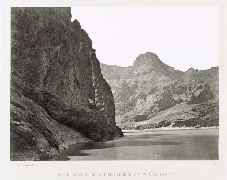Timothy H. O'Sullivan | Black Cañon, Colorado-rivier, Verenigde Staten ('Looking Below Near Camp 7'), Timothy H. O'Sullivan, 1871 |