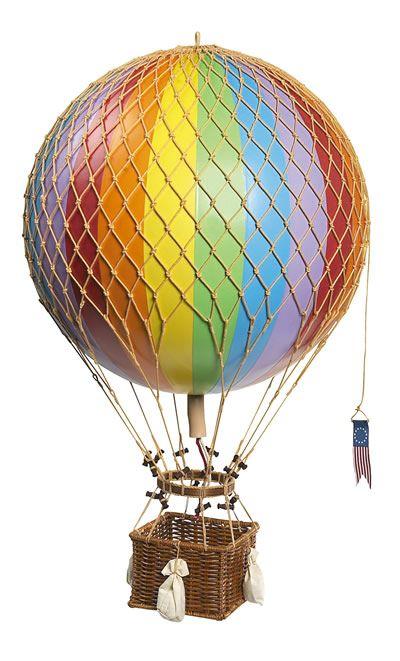 BrassBinnacle.com: Rainbow Royal Aero Hot Air Balloon