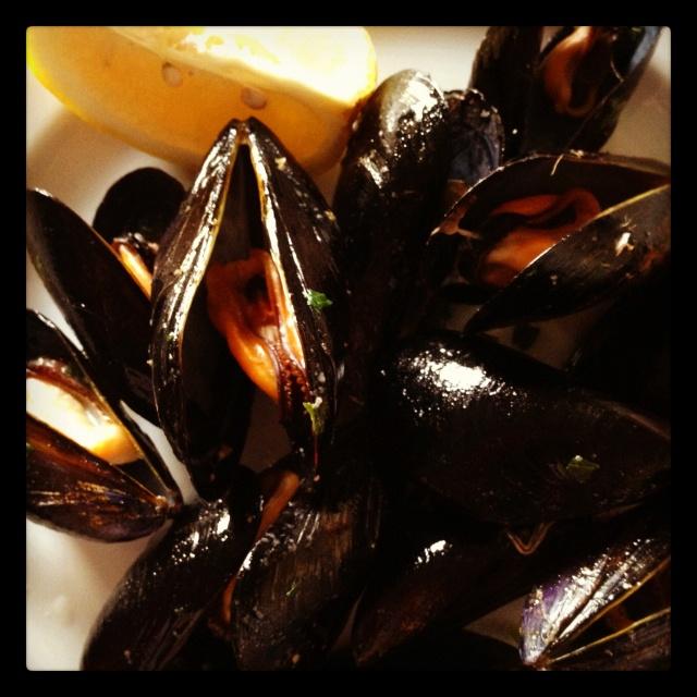 Muscoli alla marinara - mussels