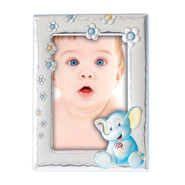 Κορνίζα παιδική Prince Silvero ασήμι ΜΒ-121C