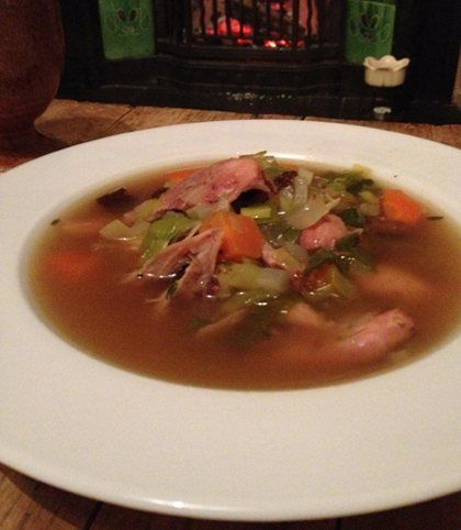 Cock a Leekie Soup: Hamely Fare for Burns Night | Hogmanay, St Andrew ...