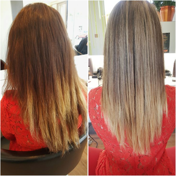 Olaplex strikes again. Look at the improvement in the condition of this ladies hair now. Looks softer, shinier and will now be so much easier to manage with less frizz. We're still loving it! Colourist: Roxanne, Hue Albany.