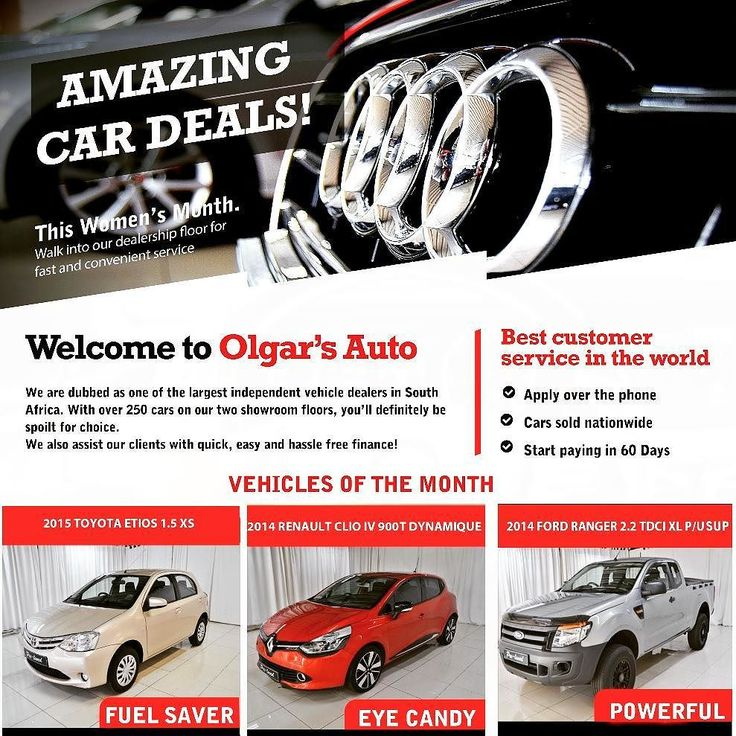 Yes we have the best customer service in the world.  #OlgarsAuto