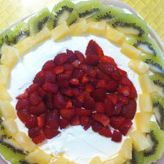 My take on the Pav for Australia Day this year... Beauty!