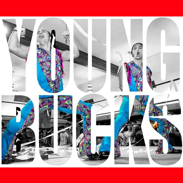 The Young Bucks: Young Bucks PWG #PWG #TheYoungBucks #Indy #TooSweetMe #SuperKickParty