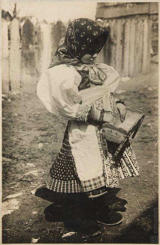 Slovakia,Karel Plicka,Child from Važec:1928