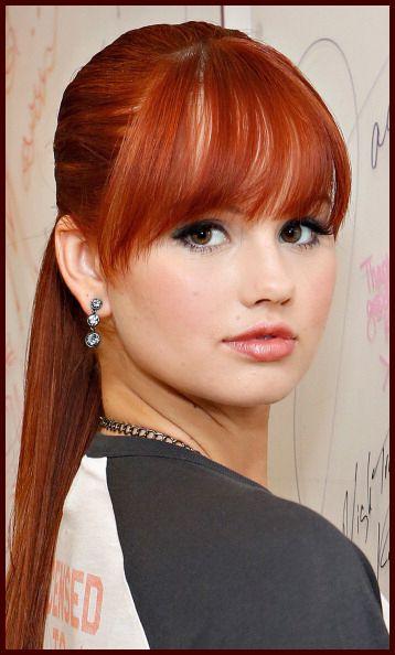Debby Ryan's red hair - yep, kimber all the way. #jemthemovie