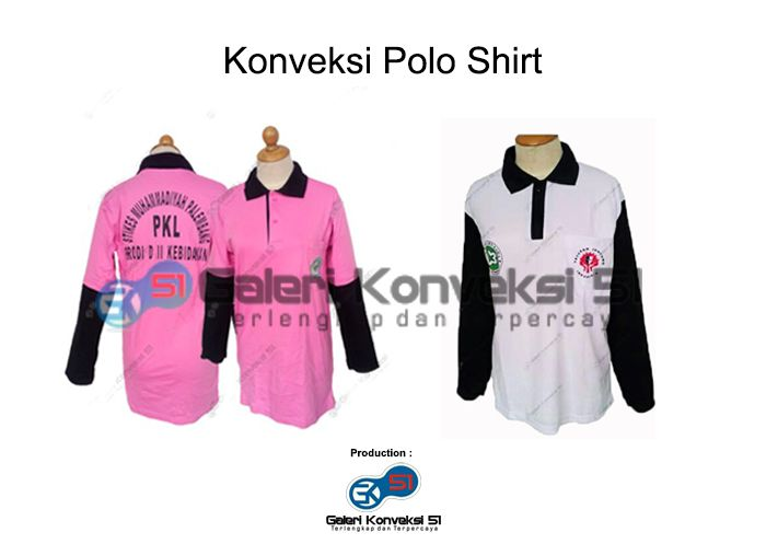 Konveksi Polo Shirt Kampus