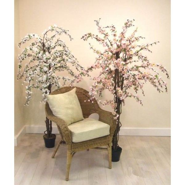 5' Artificial Cherry Tree White - CHE001a