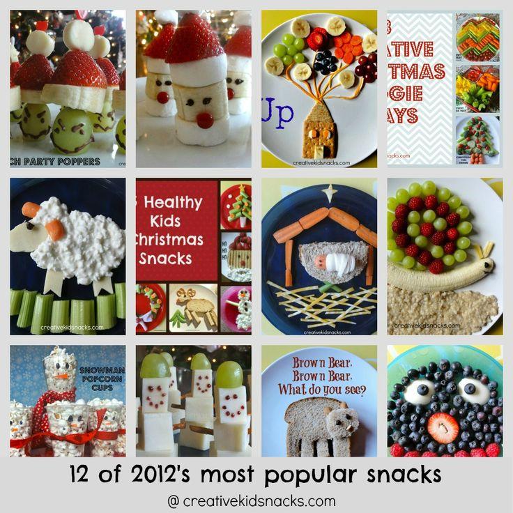 The 12 Coolest Snacks on the Block | Creative Kid Snacks