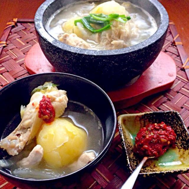 Chicken pot Dakhanmari style 簡単