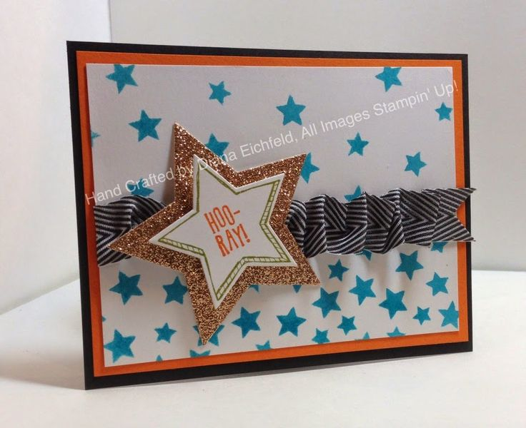 Stampin' Fun with Diana: Stylin' Stampin' INKspiration Convention 2014 Display Board Samples: Day 1, Be the Star, Big Shot, Framelits, Mask, Convention, Stampin' Up, Diana Eichfeld