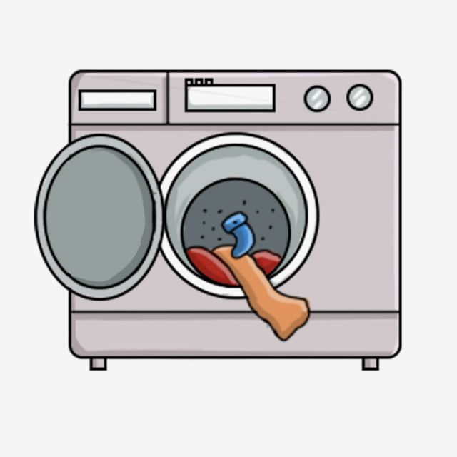 Cartoon Hand Drawn Washing Machine Washing Machine Laundry Laundry Washing Machine Clipart Cute Mini Washing Machine Washing Clothes Png Transparent Clipart Washing Machine How To Draw Hands Clothes Washing Machine