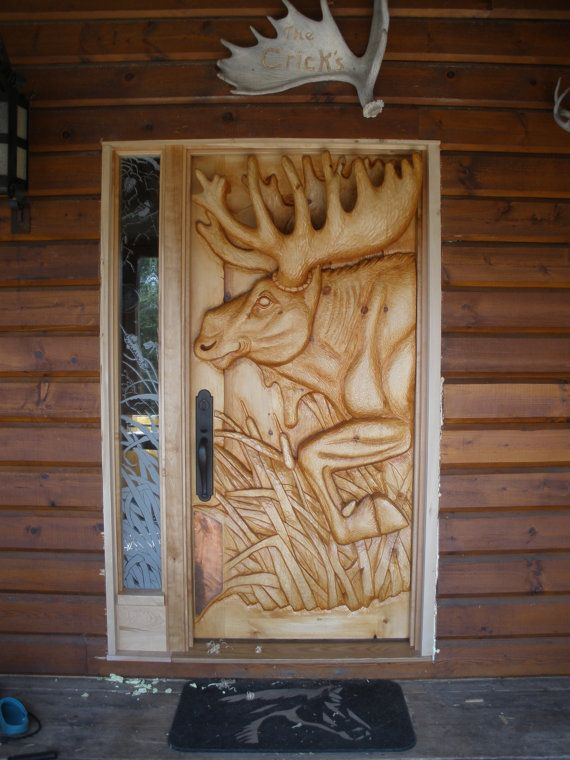 Moose Door Bison Door Bear Door White Tail Deer Door