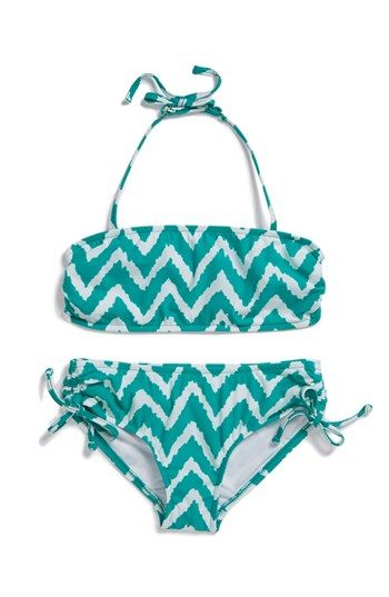 Milly Minis Zigzag Two-Piece Swimsuit (Toddler Girls, Little Girls  Big Girls) available at #Nordstrom