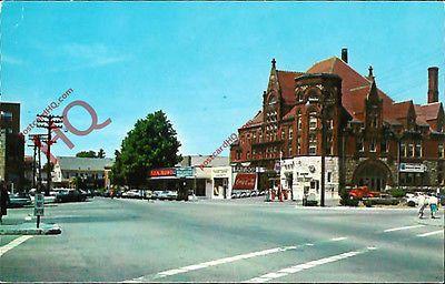 POSTCARD: Massachusetts, South Weymouth, Columbian Square ...