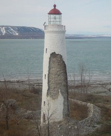Nottawasaga Island lighthouse [1858 - Collingwood, Ontario, Canada]