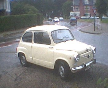 Fiat 600 mee naar zwitserland geweest