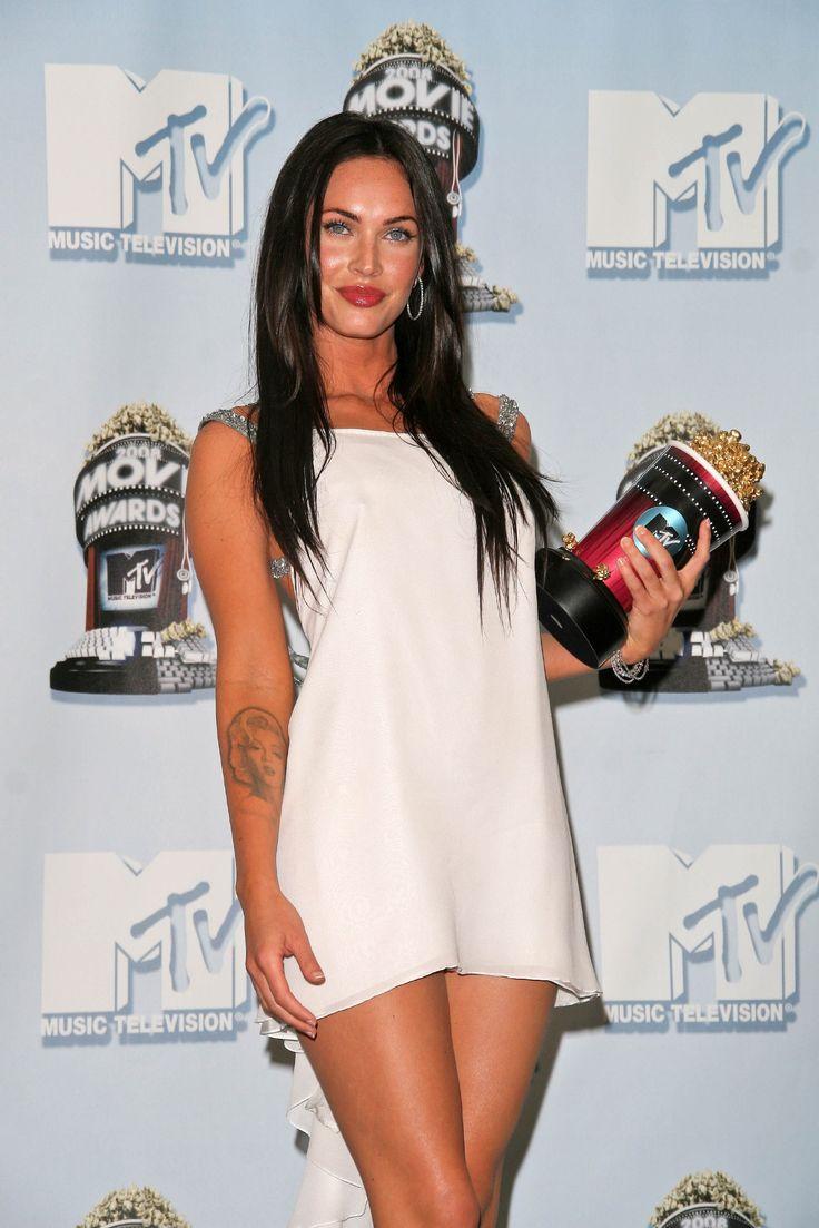Megan Fox Wearing a Tiny Little White Dress
