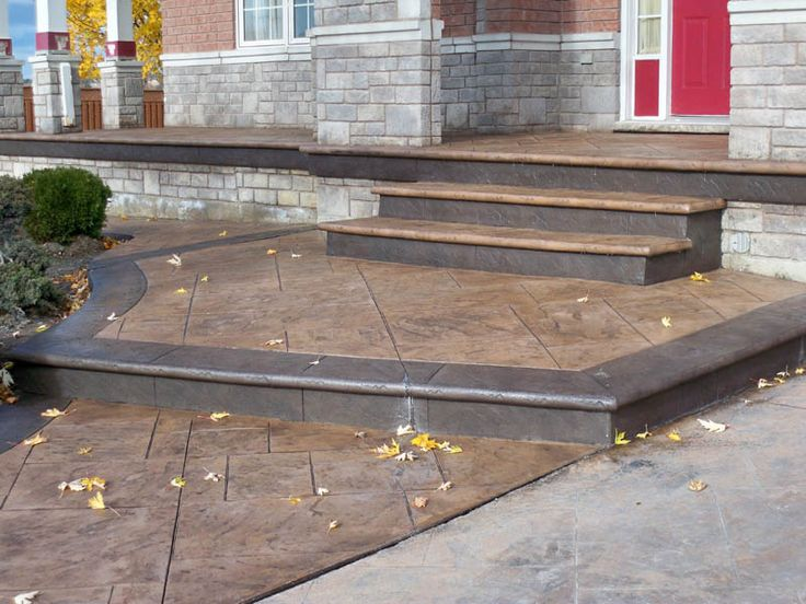 Prestressed Concrete Sidewalks : Best front steps images on pinterest porch stairs
