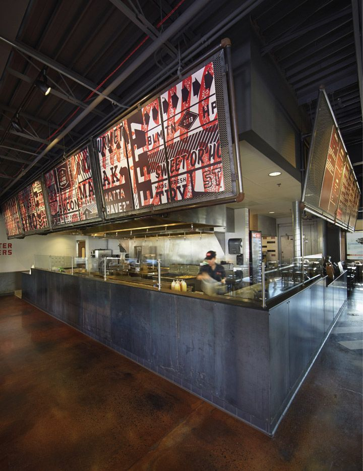 Streetz American Grill restaurant identity by Cue branding branding