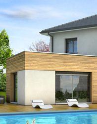 maison moderne toit plat - Maison Moderne Contact