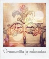 Romanttinen valurautainen ornamenttinaulakko   La Petite Provence - tuoksuja ja tunnelmaa kotiin sekä lahjaksi (Hallinta)