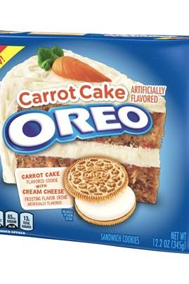New Year New Oreo Flavor Carrot Cake Oreos Are Officially Here