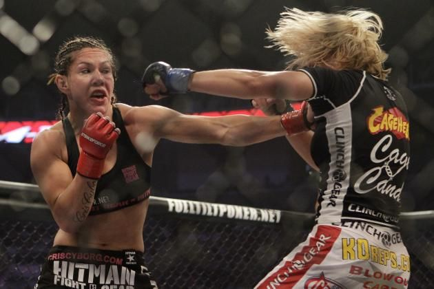 #MMA: Chris Cyborg encabezaría el regreso de UFC a Brasil
