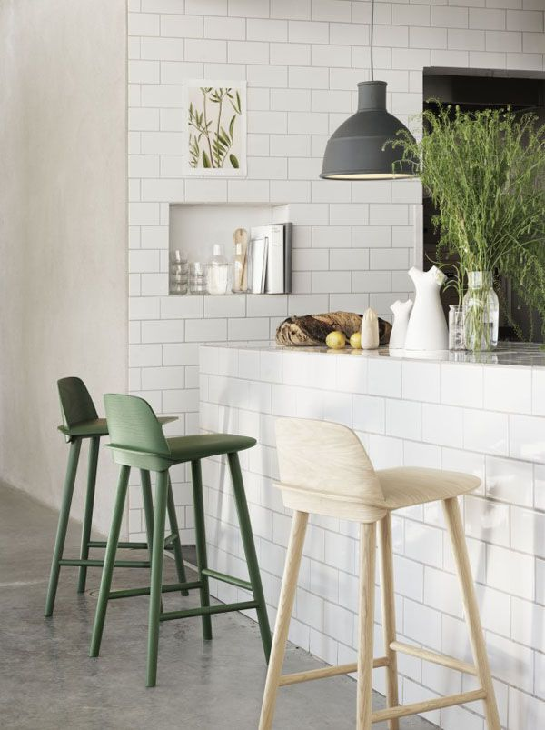 life as a moodboard: White and Green for Muuto 2013
