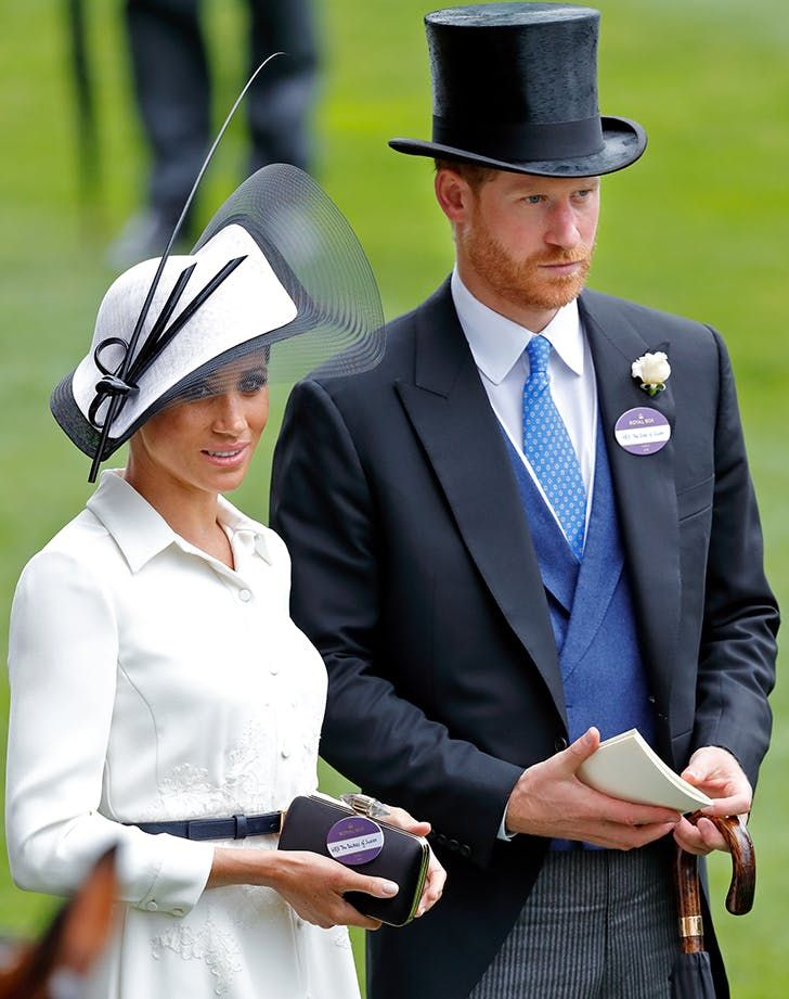 Meghan Markle Opted Against *This* Accessory at the 2018 Royal Ascot & Here's Why