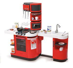 Smoby – 311100 – Cuisine Cook Master Rouge