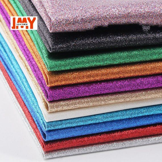 Half Yard Glitter Metallic Polyester Fabric Handmade Patchwork Sewing Crafts