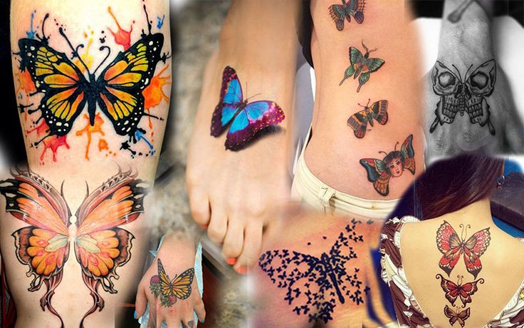 Butterfly Tattoos| InkDoneRight  The most basic reason that someone would choose to get a butterfly tattoo is simply because they are beautiful and mysterious creatures! They can only...