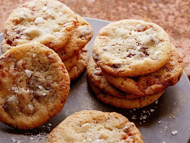 Get Milk Chocolate Chip Maple Syrup Glazed Bacon Cookies Recipe from Cooking Channel